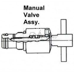 J0810-50-01 - Manual Retract Valve