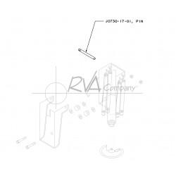 J0730-17-01 - 22.5 Rear Jack Swivel Pin