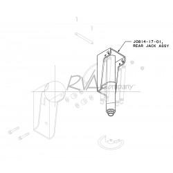 "J0914-17-01 - RVA ""22.5A"" Rear Jack (Cylinder Only)"