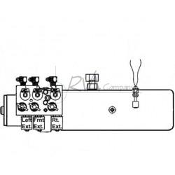 J0912-20-01 - RVA Hydraulic Pump Assembly (W/O Manifold Assem) 16a